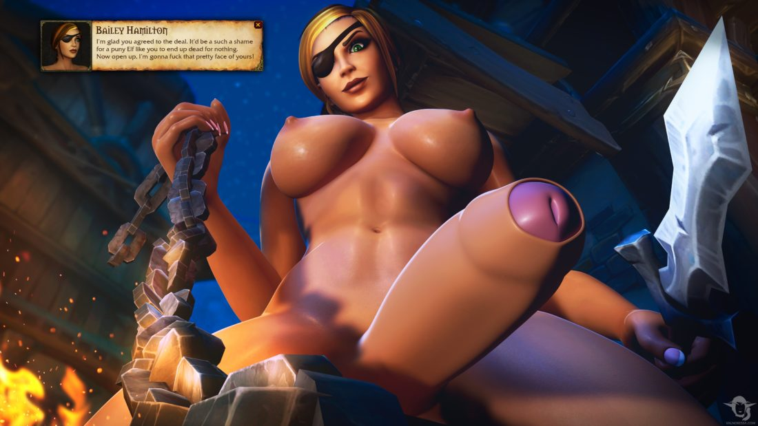 Valnoressa - Futa human world of warcraft